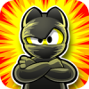 Ninja Hero Cats and IOS Game Arcade Style