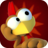 iPhone game Crazy Chicken / iPhone iPad Kids Game